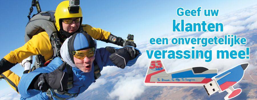 Alle Skydive verenigingen opgelet!