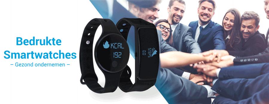 Bedrukte smartwatches